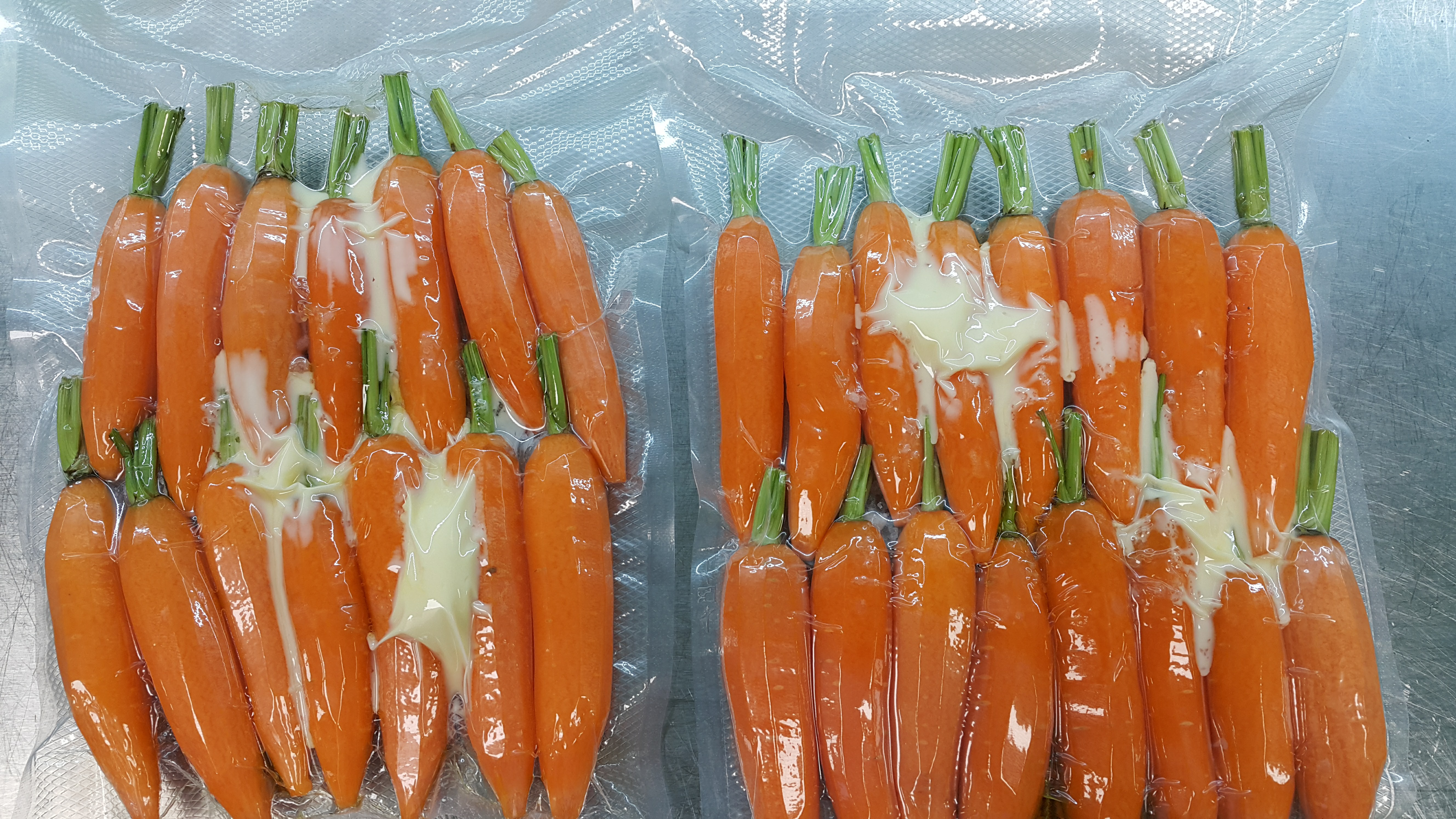 моркови су вид - вакуумиране