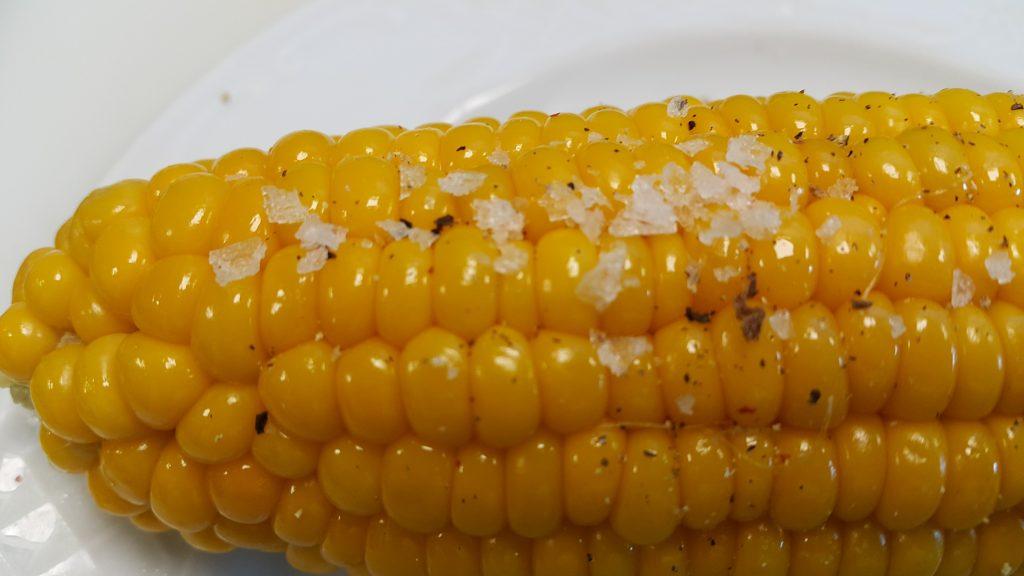 сладка царевица sous vide
