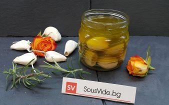 чесново конфи Sous Vide